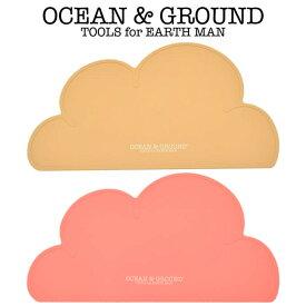 OCEAN & GROUND(オーシャン アンド グラウンド)GIRL'S ランチョンマット(オーシャン&グラウンド ベビー ランチョンマット シリコン 赤ちゃん 子供 おしゃれ 女の子)