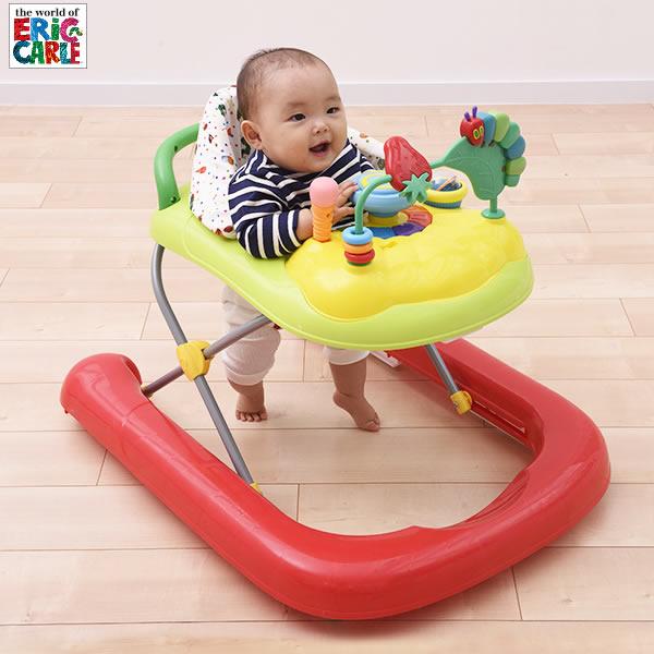 はらぺこあおむし 2in1ウォーカー 歩行器(歩行器 赤ちゃん ベビー おもちゃ 室内遊具 はらぺこあおむし グッズ 出産祝い ギフト 男の子 女の子 お祝い プレゼント)
