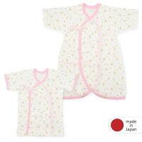 dc9e3903187f8 PR 新生児・ドリームストーリー・短肌着・コンビ肌着2枚組・日本.