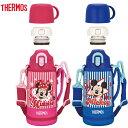 THERMOS(サーモス) 真空断熱2WAYボトル FHO-601WFDS ディズニー サーモス ミッキー ミニー 水筒 子供 キッズ 保冷 保温 サーモス 水筒 …