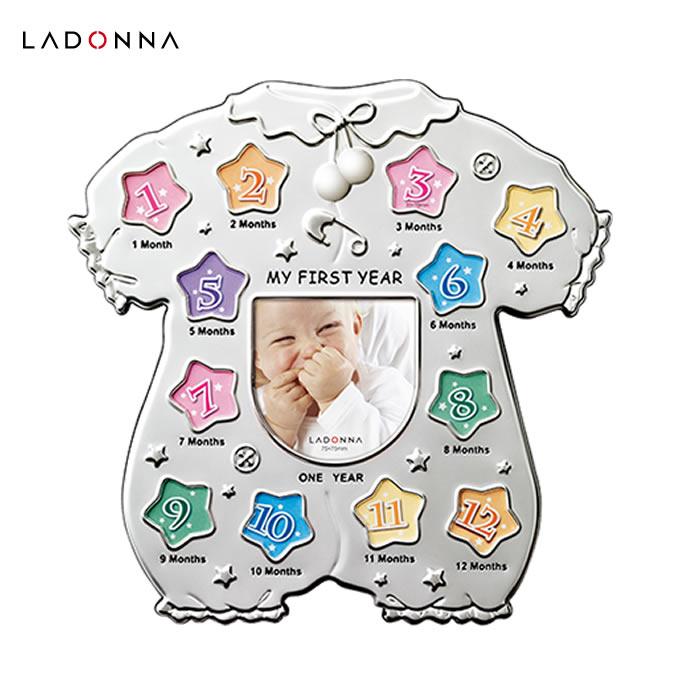 ラドンナ マイファーストイヤーフォトフレーム MB45-130 (フォトフレーム 写真立て 赤ちゃん ベビー 出産祝い ギフト プレゼント お祝い 送料無料)