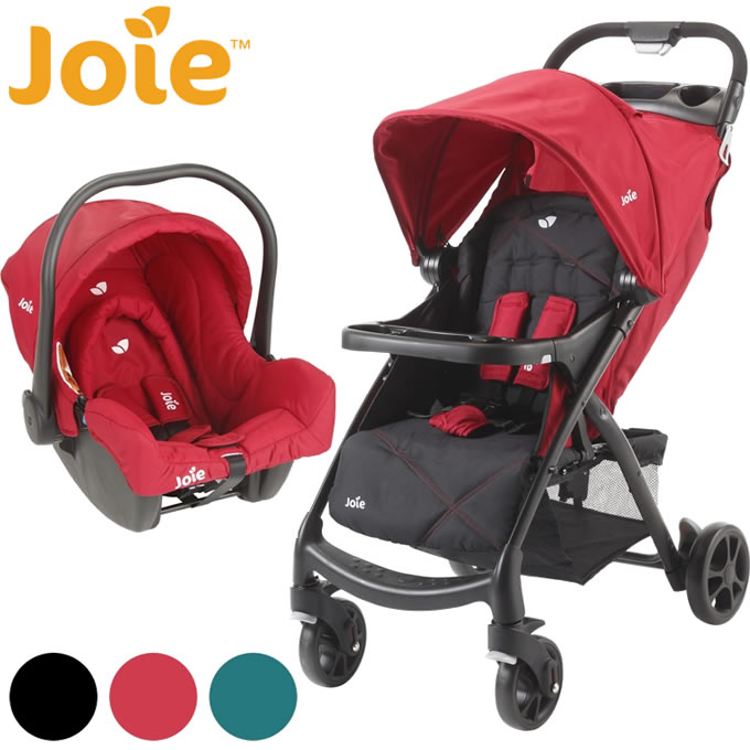 joie(ジョイー) トラベルシステム ベビーカーMUZE(ミューズ)+ベビーシートJuva(ベビーカー 日よけ ベビー 赤ちゃん 生後1ヶ月から体重15kg(目安として36ヶ月)まで)