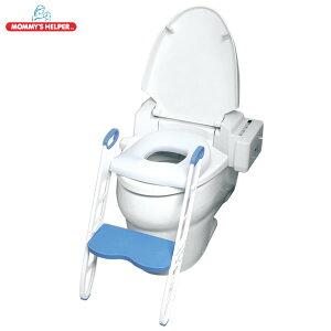 ダッドウェイ 座面がふかふかな ステップ付きトイレトレーナー(補助便座 ステップ 子供 トイレ トレーニング 台 こども 踏み台 子供)