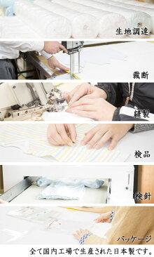 新生児肌着5点セット水玉柄サックス・日本製