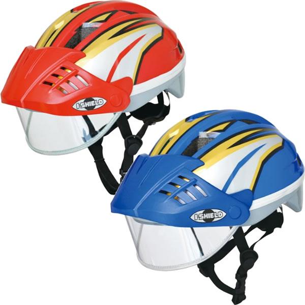 ides アイデス アイシールドヘルメット Sサイズ53-56cm(子供用ヘルメット キッズ ヘルメット こども 幼児 幼児用ヘルメット 自転車 入園 入園準備 入園グッズ)