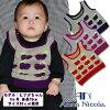"""尼柯拉 • 安娜 (安娜 · 尼古拉) 嬰兒蘋果圖案提花最好""""日本製造""""(孩子的寶貝嬰兒剛出生的嬰兒最好的針織的孩子衣服)"""