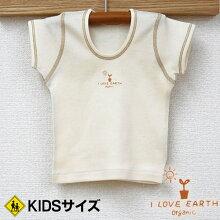 オーガニックコットンフライス半袖シャツ【日本製】