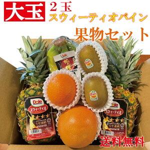 果物セット 果物詰合せ フルーツ ギフト フルーツセット フルーツ詰合せ お中元 果物 果物ギフト クール便 送料無料 パイン