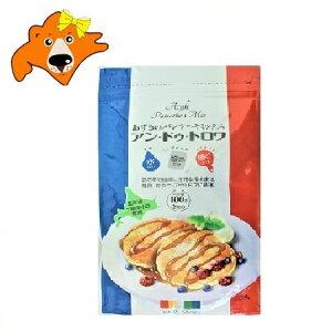 有機肥料 しみず 有機で栽培された 北海道 十勝産 小豆 使用 あずきのパンケーキミックス「アン・ドゥ・トロワ」100 g 価格 777円 ポイント消化 送料無料