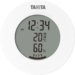 雑貨 ギフトタニタ デジタル温湿度計(ホワイト)(TT585WH)【インテリア 温度計 湿度計 温湿度計 スケール 贈り物 内祝い 御祝い お返し 出産内祝い 出産御祝 結婚内祝い 快気祝い 快気内祝い 返