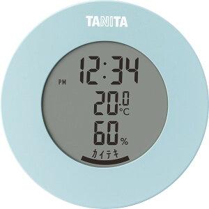 雑貨 ギフトタニタ デジタル温湿度計(ライトブルー)(TT585BL)【インテリア 温度計 湿度計 温湿度計 スケール 贈り物 内祝い 御祝い お返し 出産内祝い 出産御祝 結婚内祝い 快気祝い 快気内祝