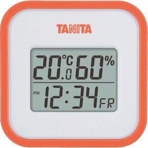 雑貨 ギフトタニタ デジタル温湿度計(オレンジ)(TT558OR)【インテリア 温度計 湿度計 温湿度計 スケール 贈り物 内祝い 御祝い お返し 出産内祝い 出産御祝 結婚内祝い 快気祝い 快気内祝い 返