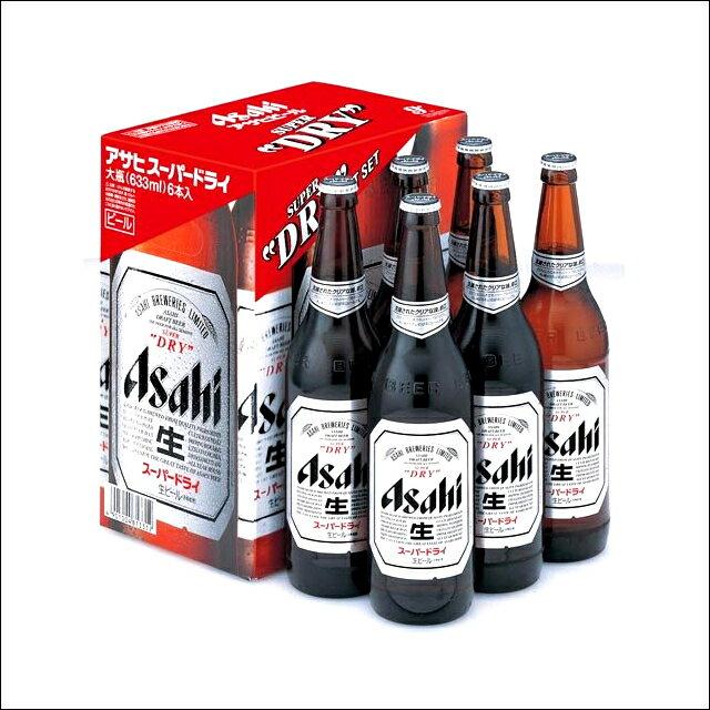 お中元 ビール ギフトアサヒ スーパードライ 大びんセット(EX-6)【お酒 ビール プレゼント セット アサヒ スーパードライ ビールセット 内祝い 御祝い 御挨拶 お返し 贈り物】