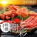 贈り物 ギフト カニ送料無料 特撰 海鮮セット 潮彩(しおさい)(5品セット)【海鮮 蟹 かに カニ ずわいがに ズワイガニ …