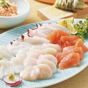 北海道 お刺身セット | いくら 鮭 いか たこ 帆立 鮮度 抜群 海の幸 グルメ お取り寄せ 送料無料