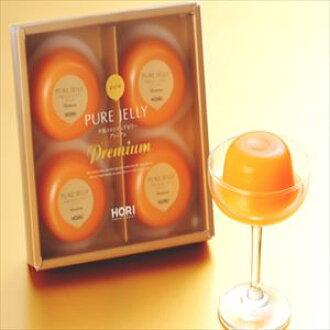 Four Hori Yubari melon pure jelly premiums