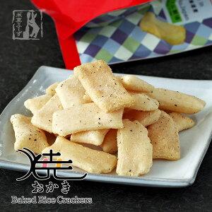 北海道米菓フーズ 焼おかき(チーズコショウ味)100g