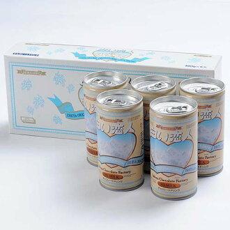 [石屋制菓] 白色恋人巧克力饮料 ( 5 罐装)
