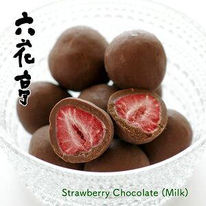 六花亭 ストロベリーチョコ ミルク【袋入】 60g
