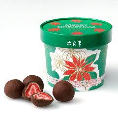 六花亭ストロベリーチョコミルク(クリスマス限定パッケージ)