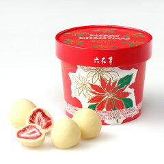 六花亭ストロベリーチョコホワイト(クリスマス限定パッケージ)