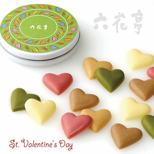 六花亭 バレンタイン限定 ラウンドハート 15個入