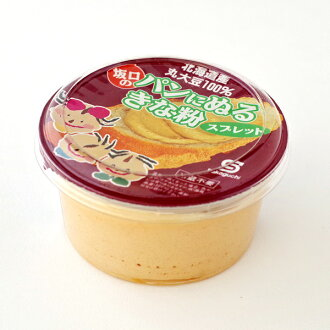Soybean flour creamy spread to paint bread with