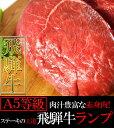 飛騨牛 A5等級 ランプステーキ100g×5枚/ステーキ/A5ランク/送料無料/冷蔵