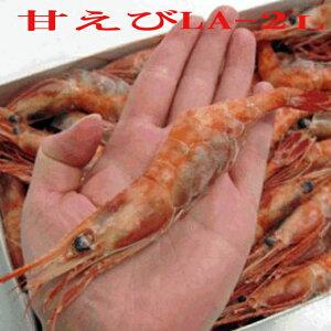 特大甘エビLA-2Lサイズ(50-65尾/1kg)/送料無料/えび/甘えび/エビ/甘海老/冷凍A/