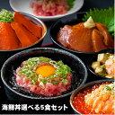 クーポン配布中!【選べる 海鮮丼 お試しセット】(マグロ漬け1p・ネギトロ1P+サーモンネギトロ1p+炙りまぐろ1P+びん…
