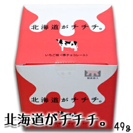 北海道がチチチ。 いちご味北海道 お土産 土産 みやげ おみやげ お菓子 スイーツ チョコレートお中元 2019