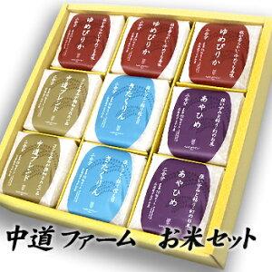 30年度産北海道米中道ブレンド10kg(「きたくりん」と「あやひめ」をオリジナルブレンド)北海道お土産ギフトプチギフトプレゼントお礼贈り物内祝いお中元2018お返し
