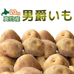 [2019年秋収穫 男爵いも 20kg] 北海道真狩産じゃがいも「男爵いも」20kg!!ジャガイモ【どさんこ問屋】