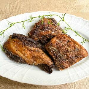 エゾシカ バラ肉燻製エゾシカをレストランで加工しました