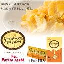 カルビー ポテトファーム POTATOFARM 北海道限定 とろっとチーズ味の カリカリポテト 3袋入 北海道 お土産 ポイント消…