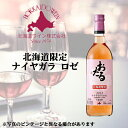 北海道ワイン おたるワイン 北海道限定 ナイヤガラロゼ 720ml お土産 お酒