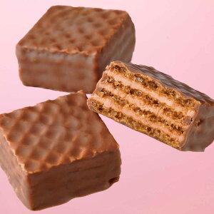 【クール便】 ロイズ チョコレートウエハース[いちごクリーム12個入] 北海道 お取り寄せ お菓子 お土産 スイーツ ギフト 北海道 応援 夏ギフト