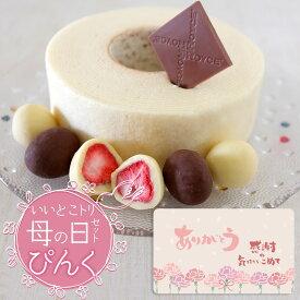 北海道銘菓食べ比べ [ぴんく] 白い恋人のホワイトチョコ バウムクーヘン いいとこトリ詰め合わせ [母の日ギフトラッピング仕様] 六花亭紙袋付き 送料込