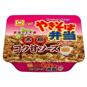 北海道限定商品 やきそば弁当 太麺 コク甘ソース味 中華スープ付 1個 マルちゃん 東洋水産 人気 お取り寄せ 北海道 ギフト