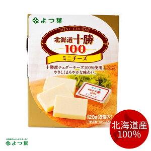 よつ葉乳業 北海道十勝100 ミニチーズ 8個入(120g)