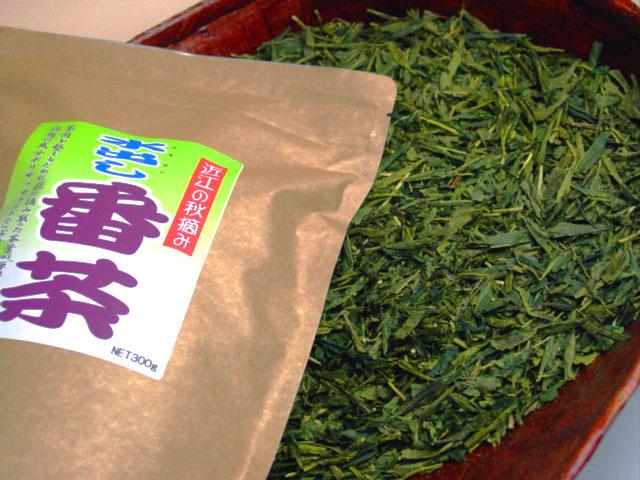 ポリサッカライドたっぷり〜♪秋摘み・水出し番茶【リーフ】