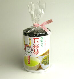 「ひこにゃん」抹茶入り玄米茶 50g筒入