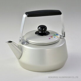 エシャロット ケットル(やかん) /2L湯沸かし アルミ 軽い アルマイト 日本製 ガス火 軽量