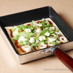 玉子焼器で作るおからピザ