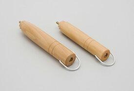 グルメテイストDX 雪平鍋 木柄S (16〜20cm用)天然木 木柄 鍋 片手鍋 取り換え 取っ手 ハンドル 交換用 部品