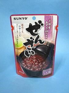 北海道産小豆使用『ぜんざい』パウチ(160g)【サンヨー堂】