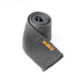 ANDERSEN-ANDERSEN アンデルセンアンデルセンScarf 5GG Greyニットスカーフ マフラー グレー