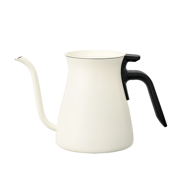 KINTO POUR OVER KETTLE White 900mlKINTO プアオーバーケトル(ホワイト)[26803]