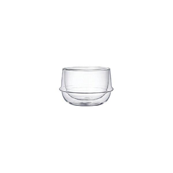 KINTO KRONOS Double Wall Tea CupKINTO KRONOS ダブルウォールティーカップ [23105]