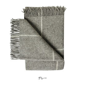 Wool Blanket with check pattern スウェーデン産 ウールブランケット・プレイド スモール [日本正規代理店品]